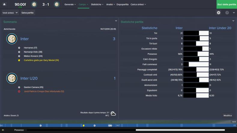 Inter - Inter Under 20_ Campo Dividi